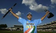 Sourav Ganguly is only cricketer who received Man of the Match award in four consecutive matches