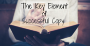 The Key Element of Successful Content