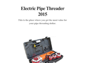 Electric Pipe Threader 2015