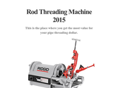 Rod Threading Machine 2015