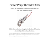 Power Pony Threader 2015