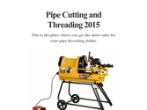 Pipe Cutting and Threading 2015