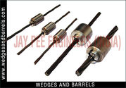 Wire bridge barrel & wedge
