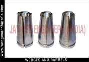 Wedges and barrels for bridge