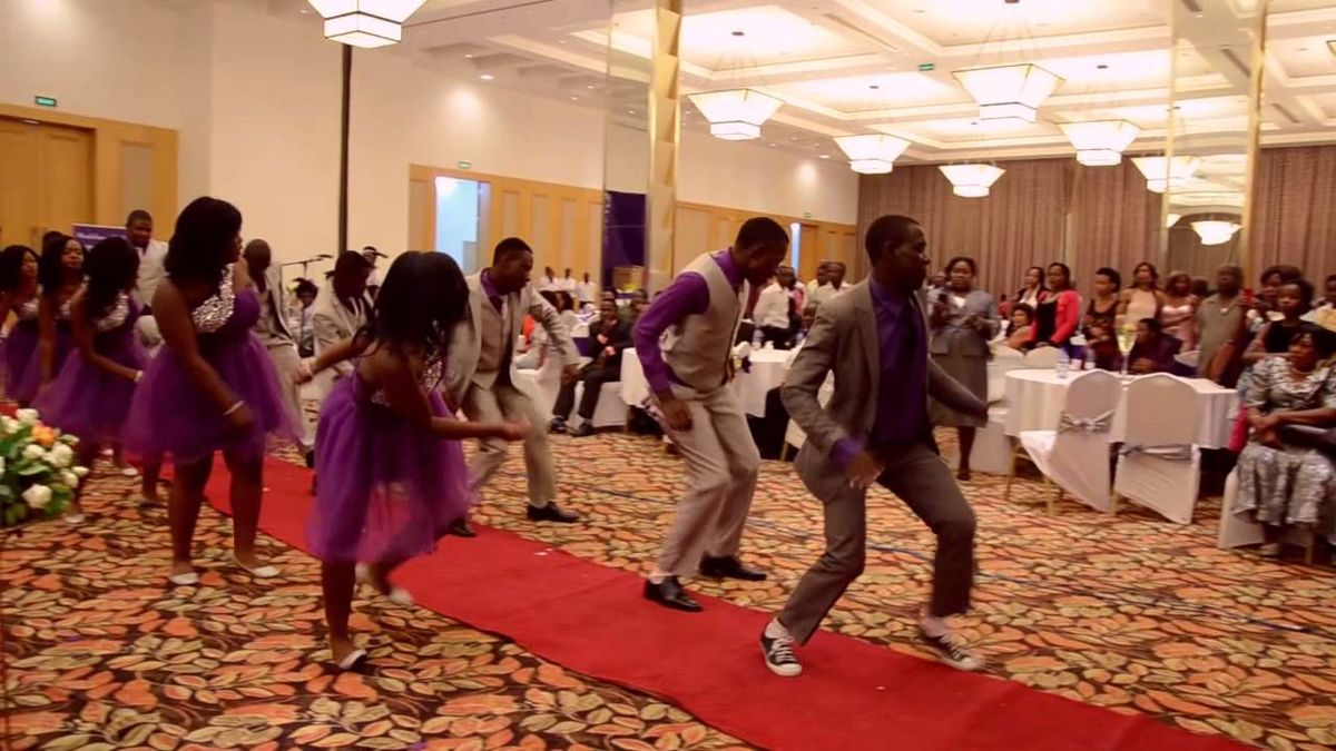 Headline for Best African Wedding Dances on Youtube