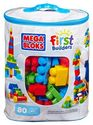 Mega Bloks First Builders Big Building Bag (80-Piece)