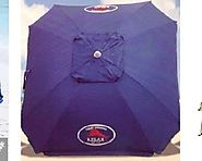 Heavy Duty Beach Umbrella - Best Wind Resistant and Sun Shade - Tackk