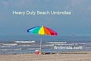 Best Heavy Duty Beach Umbrella