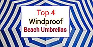 Best Heavy Duty Windproof Beach Umbrellas -