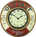 Roger Lascelles Nautical Wall Clock, Old Salt, 14.2-Inch