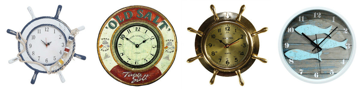 Headline for Large Nautical Wall Clocks