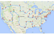 How to Really Drive Across the U.S. Hitting Major Landmarks : DNews