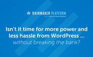 Introducing Rainmaker: The Complete Solution for Content Marketers and Internet Entrepreneurs - Copyblogger