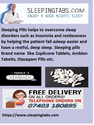 Sleeping Pills convenient, affordable and help you sleep