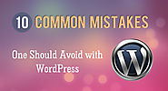 Avoid 10 Common Mistakes In WordPress