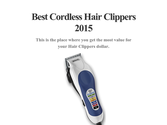 Best Cordless Hair Clippers 2015