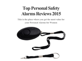 Top Personal Safety Alarms Reviews 2015