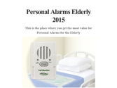 Personal Alarms Elderly 2015