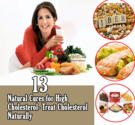 13 Effective Natural Cures for High Cholesterol - Treat Cholesterol Naturally