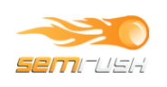 SEMrush: service for competitors research, shows organic and Ads keywords for any site or domain