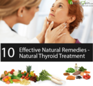 Natural Thyroid Treatment - 10 Effective Natural Remedies