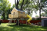 Inexpensive Treehouse Designs Ideas for Kids