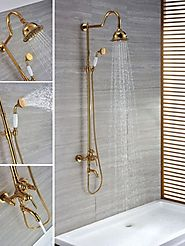 Modern Bathroom Shower Fixtures Ideas