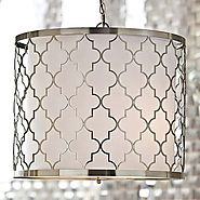 Horchow Geometric Pendant Light to Enhance Room Appearance