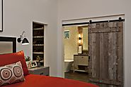 Good Reasons to Create Rustic Bedroom With Sliding Barn Door