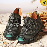 Ladies Handmade Ankle Boots CW350150 - cwmalls.com