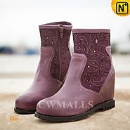 Womens Cutout Ankle Boots CW305335 - cwmalls.com