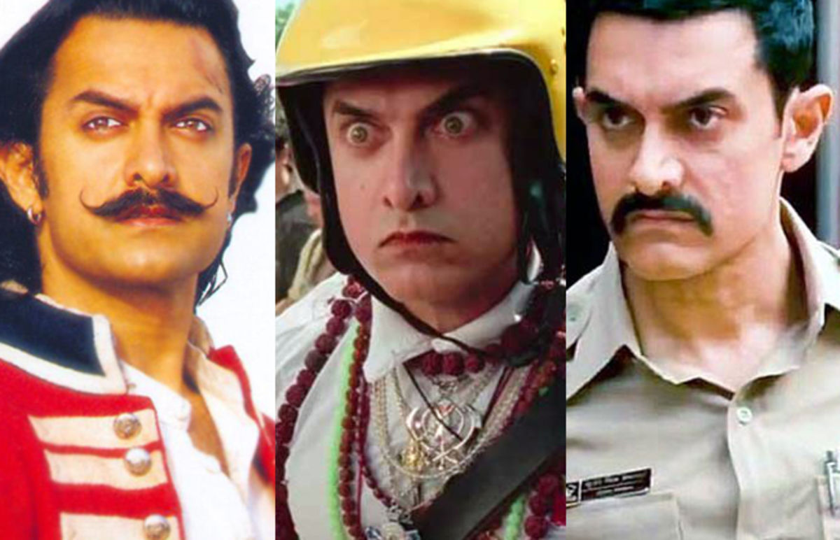 Headline for Best looks of Aamir Khan from his films