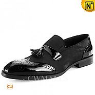 CWMALLS® Tassel Brogue Leather Loafers CW716037