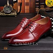 CWMALLS® Lace-up Leather Derby Shoes CW716007