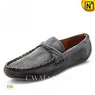 CWMALLS® Designer Suede Leather Moccasins CW707016
