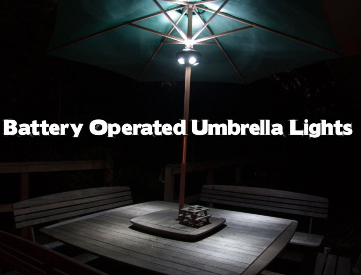 Headline for Cordless Battery Operated Umbrella Lights - Best Customer Reviews