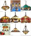 Stained Glass Hanging Lamps