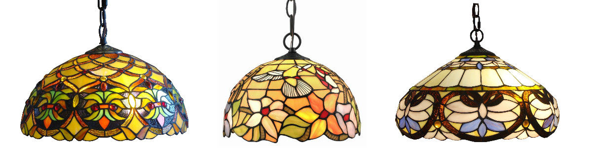 Headline for Stained Glass Hanging Lamps
