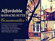Affordable Towns For Buying Real Estate West of Boston