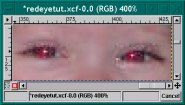 GIMP - Red Eye Removal
