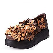 Women Handmade Leather Shoes CW305156
