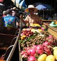 Cycling Adventure One Day Tour from Bangkok to Floating Market