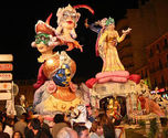 The Fallas of Denia