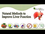 Natural methods to improve liver function