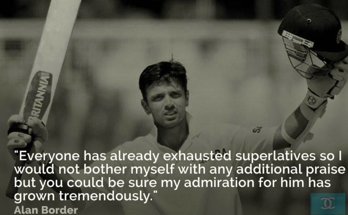 Headline for A Pictorial Tribute to Rahul Dravid- The Legendary Wall