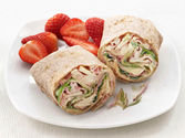 Ham, Swiss and Apple Wraps Recipe