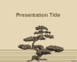 Bonsai Tree PowerPoint Template | Free Powerpoint Templates
