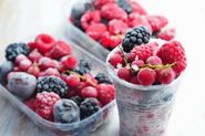 Freeze your Extra berries and Fruits