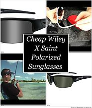Cheap Wiley X Saint Polarized Sunglasses