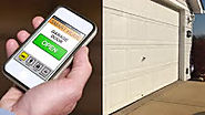 Smart Phone Controlled Garage Door